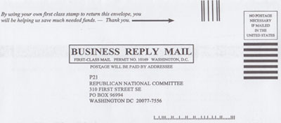 Return Envelope