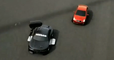 Still from Nissan Drift