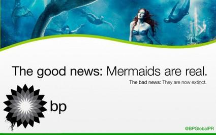 BP Mermaid Billboard