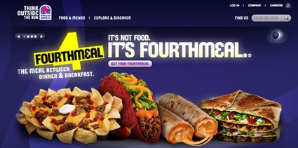 It's not food. It's fourthmeal.
