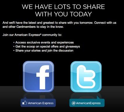 American Express and social media