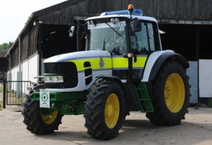 The Boston, England Police Tractor