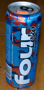 Four Loko Blue Raspberry