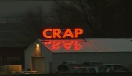 Crap Sign