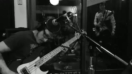 Weezer, in studio