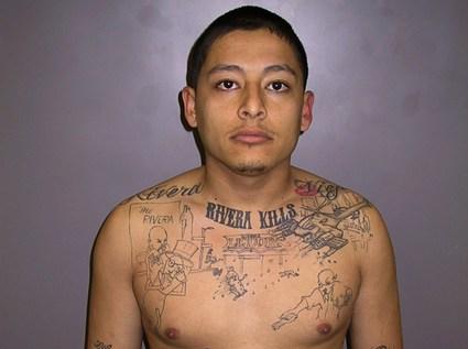 Anthony Garcia's confessional tattoo