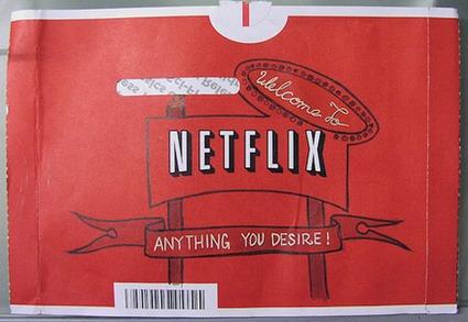 Netflix Envelope Doodle