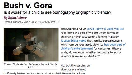 Bush V. Gore Headline