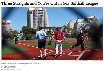 Three Straights And You're Out Headline