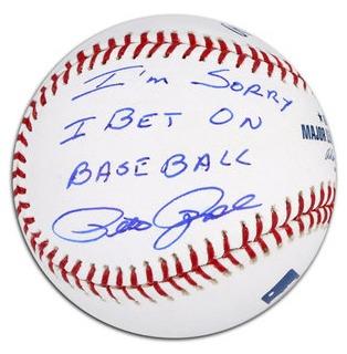 I'm Sorry I Bet On Baseball Pete Rose