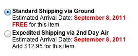 eBags Shipping Deal