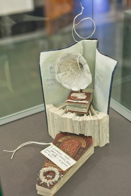 Book Sculpture from Scotland