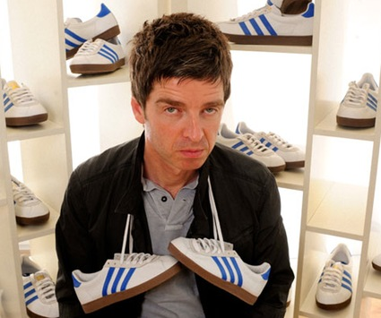 Noel Gallagher Looking Thrilled
