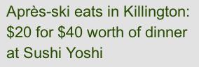 Sushi Yoshi deal