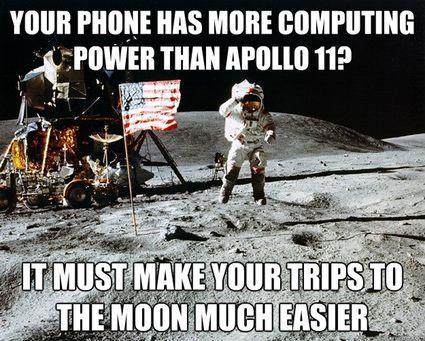 Unimpressed Astronaut Example