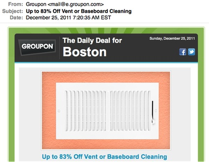 Merry Christmas from Groupon