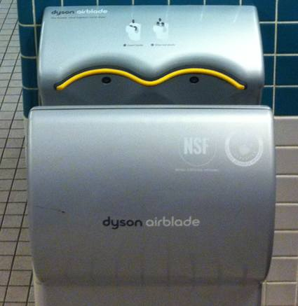 one foot tsunami the dyson airblade vs the excel xlerator - Dyson Hand Dryer