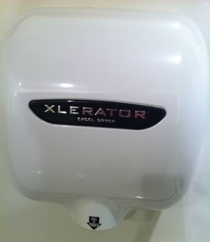 the xlerator like the airblade - Dyson Hand Dryer