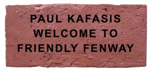 Paul Kafasis - Welcome To Friendly Fenway