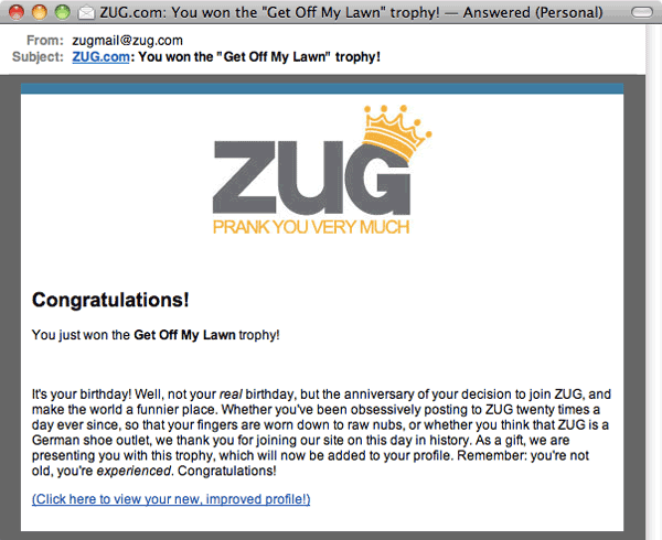 Zug Email