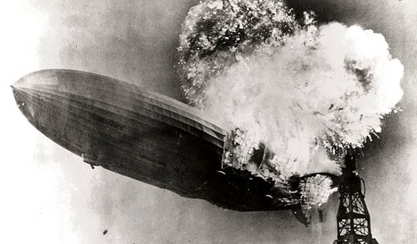 The Famous Hindenburg Photo