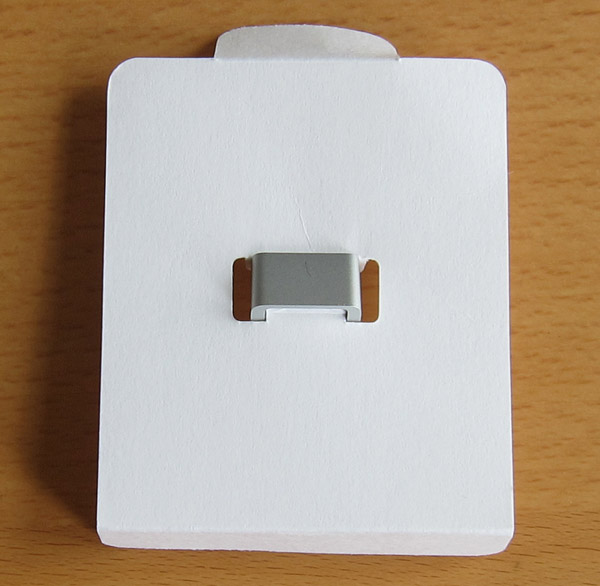 The Adapter on its card
