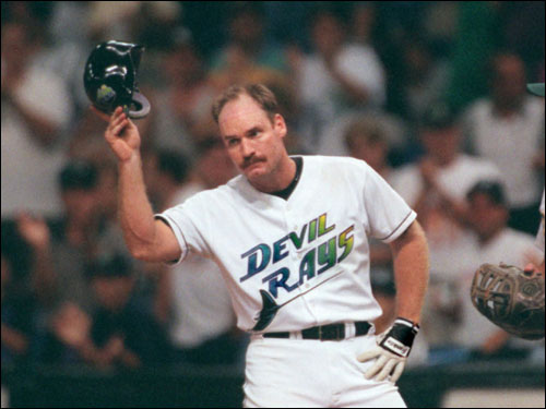 The Devil Rays Original Uniform