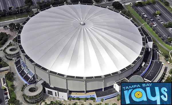 Tropicana Field From Above
