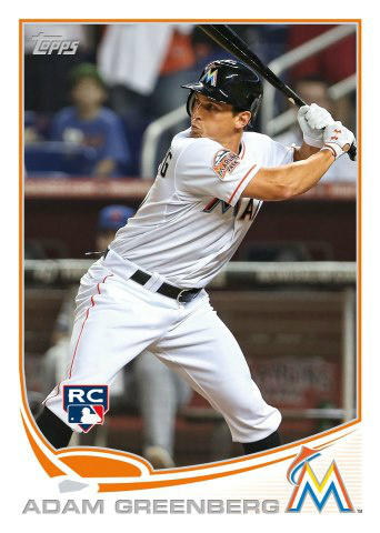 Adam Greenberg's 2013 Topps Baseball Card
