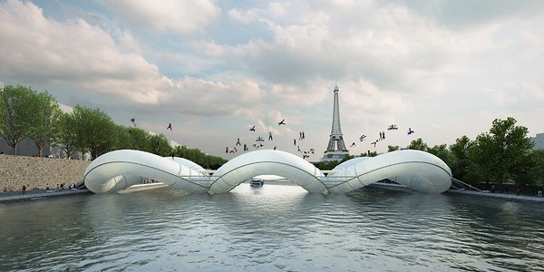 A Proposed Trampoline Bridge