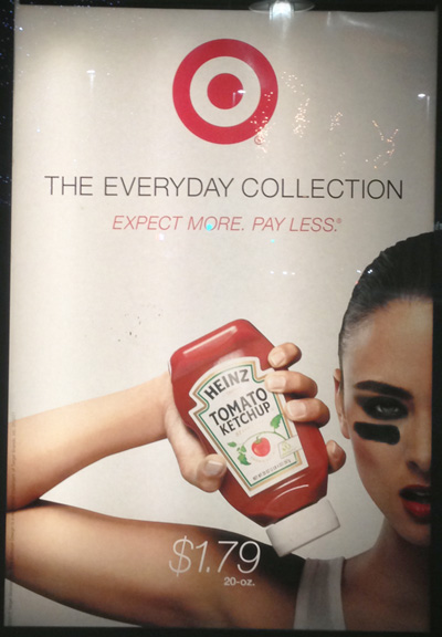 Target Ketchup Ad