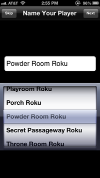 Powder Room Roku