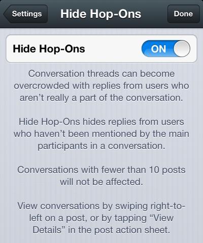The Hide Hop-Ons Pref