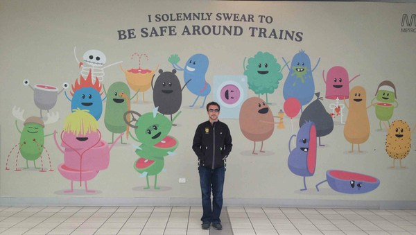 Pledging to be safe around trains