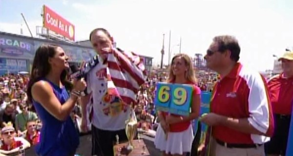 Joey Chestnut, Triumphant