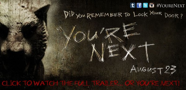 The You're Next end screen