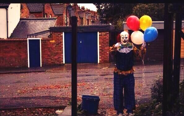 Terrifying Clown