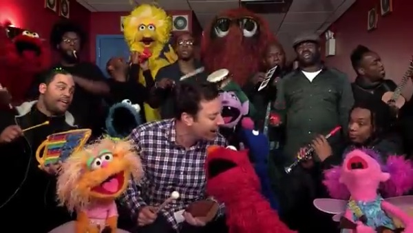 The Roots, Jimmy Fallon, and the Sesame Street Gang
