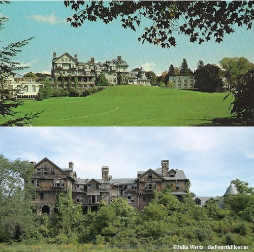 Halcyon Hall Before and After