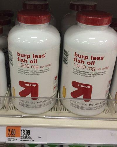 Burpless Fish Oil