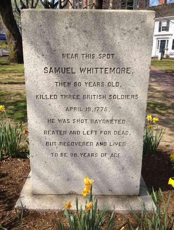 Samuel Whittemore's Marker