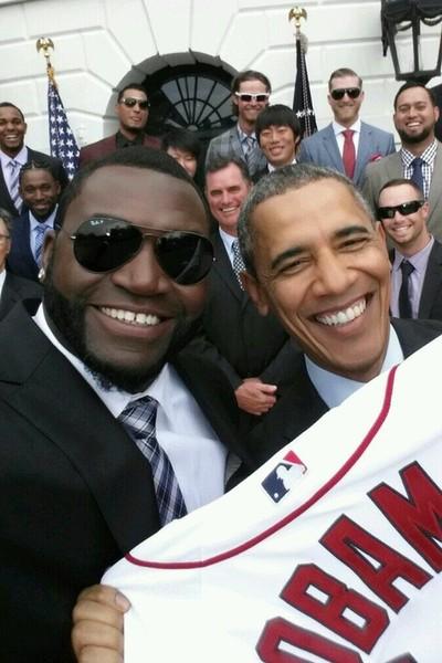 David Ortiz's presidential selfie