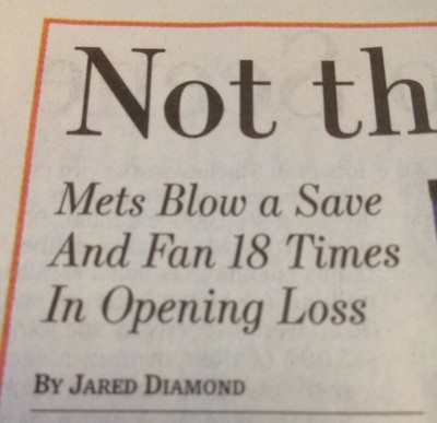Mets Blow A Save And Fan 18 Times