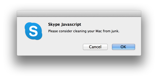 MacKeeper infecting Skype