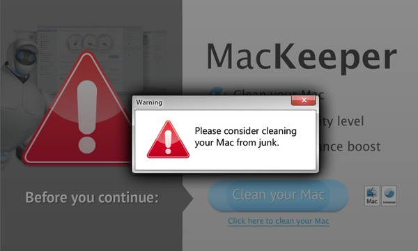 Please consider cleaning your Mac from junk, with a Windows error style.