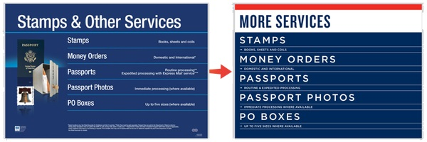 USPS Redesign
