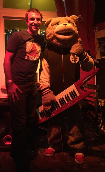 Keytar Bear in Concert
