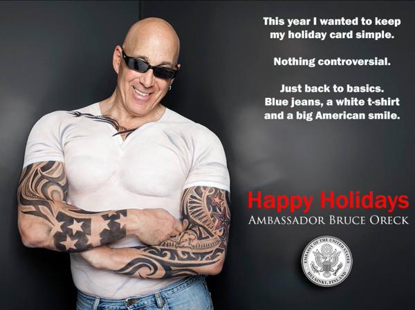 Bruce Oreck's 2014 Holiday Card