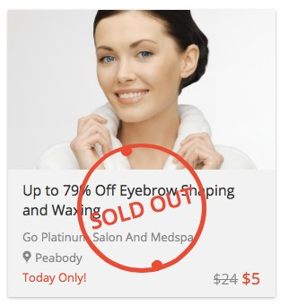 Eyebrow Shaping and Waxing: Sold Out!