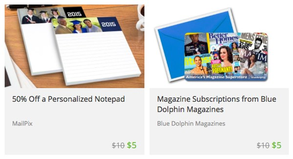 Notepad; Magazine Subscription